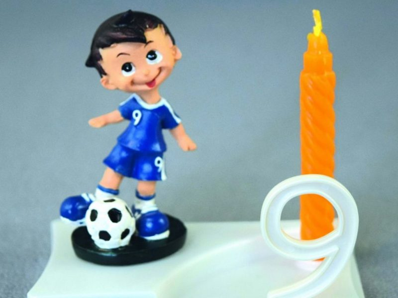 Bougie footballeur