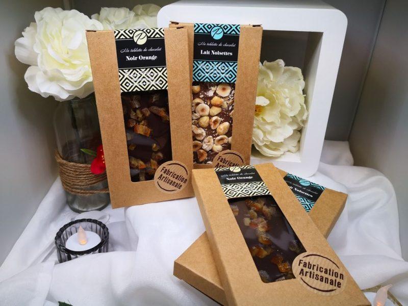 Tablettes de chocolat artisanales