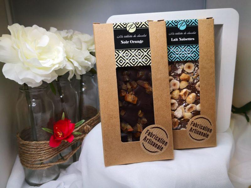 Tablette de chocolat artisanale