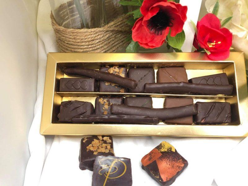 Boite sélection de chocolats artisanaux