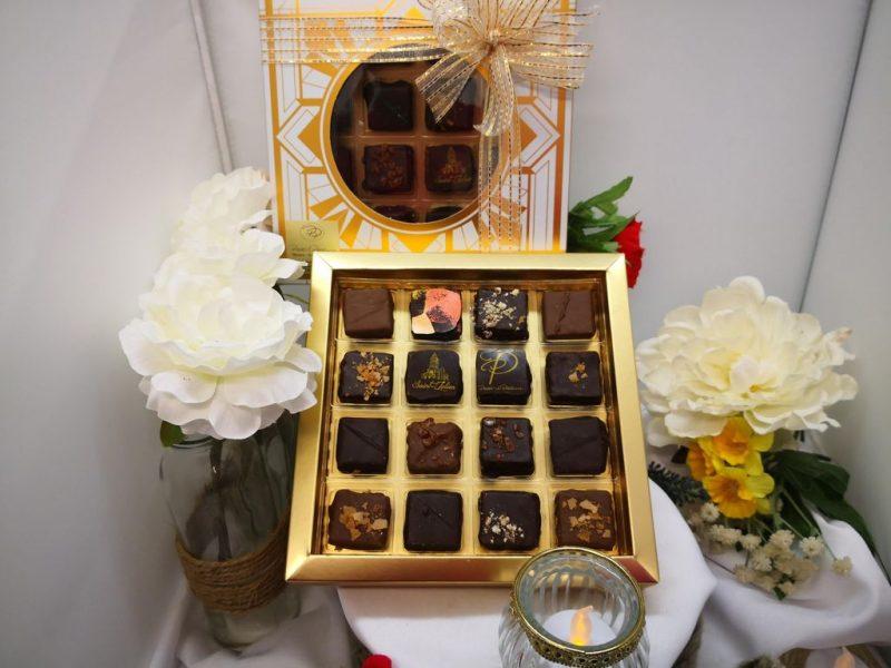 Boite de 16 chocolats
